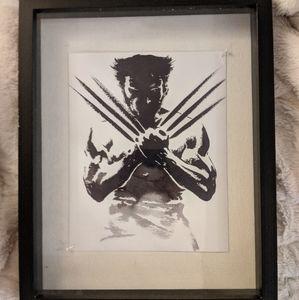 Wolverine Shadow Box Art